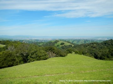 briones crest trail views