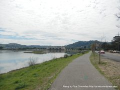 multi-use path along redwood hwy