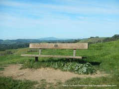 briones crest trail memorial bench