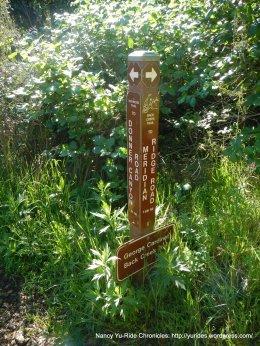 stay on back creek trail