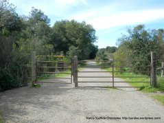 old briones rd trail gate