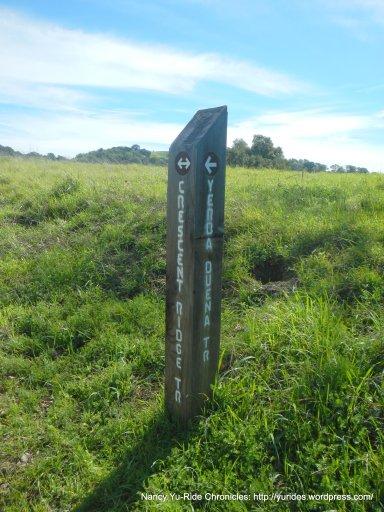 stay on crescent ridge trail