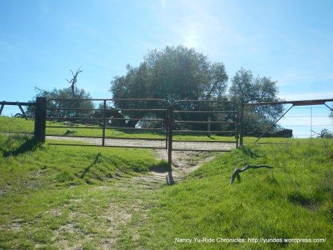 crescent ridge trail gate