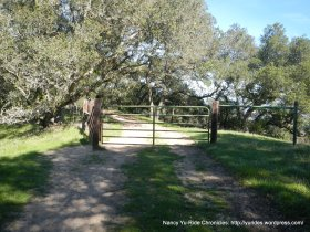 table top trail gate