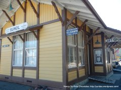 sunol train depot
