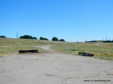cattle feed area