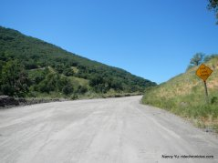 geysers rd-gravel section