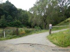 state park pedestrian gate trailhead