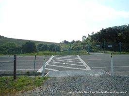 bay area ridge trail-cross main road