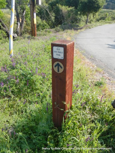 stay on old san pablo trail