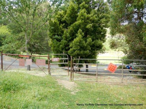 reservir st trail gate