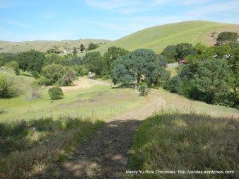 back creek trail to regency gate