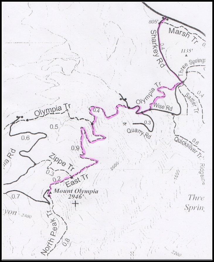 Mt Olympia Hike-001