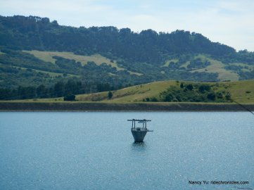 briones reservoir intake