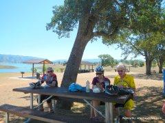 acorn picnic area-lake berryessa