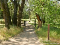 stage rd trail gate