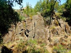 little yosemite trail rock wall