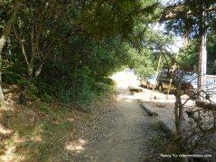 path to trailhead