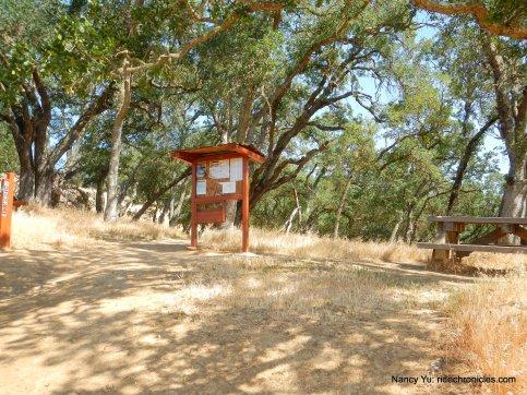 mt wanda trail /nature trail junction