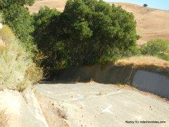 old pine dam spillway