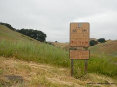 enter EBMUD watershed