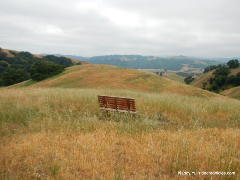 bay area ridge trail bench