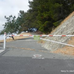acalanes ridge trail gate