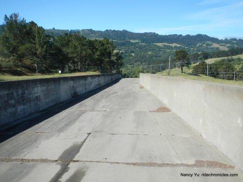 briones dam-spillway