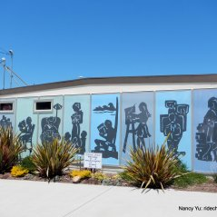 cayucos library mural