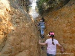 narrow ravine