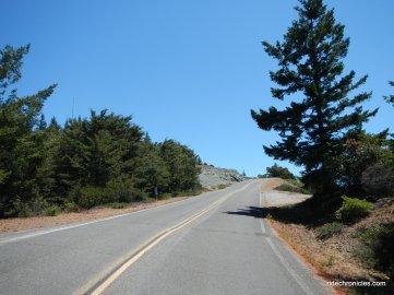 e ridgecrest blvd-steep pitch