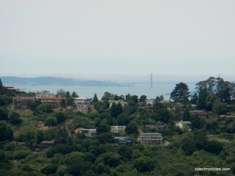 berkeley hills-golden gate bridge