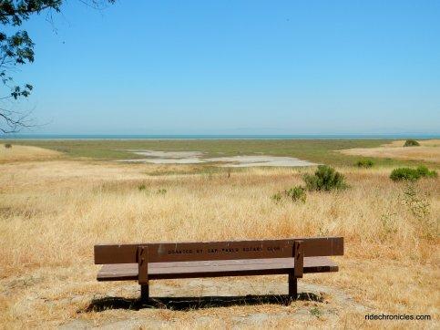 marsh trail bench