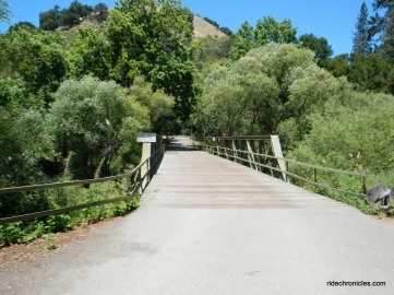 bridge over moraga creek