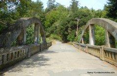 old platform bridge