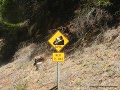 steep climb