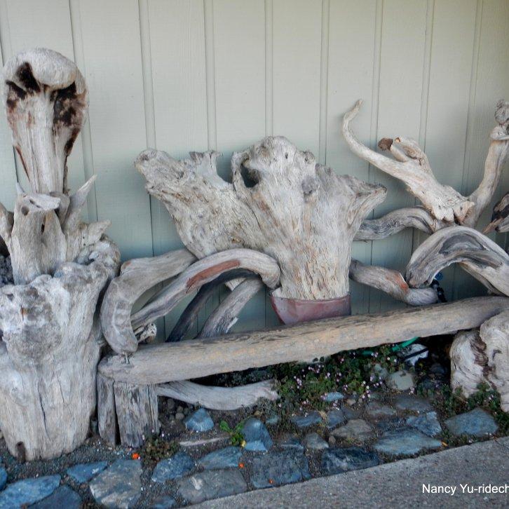 Main St driftwood