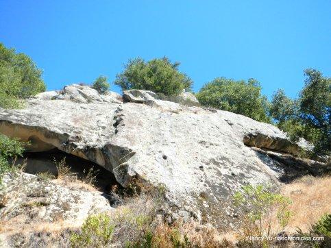 rocky ridge face