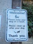 dogs on leash!