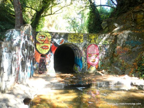 sausal creek tunnel