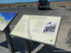 coastal trail info panel