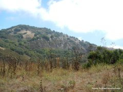rocky ridge rock wall