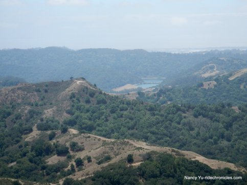 view san leandro reservoir