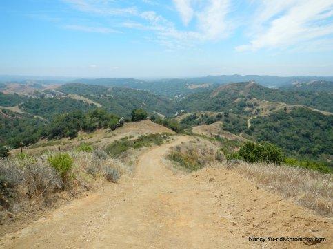 descend rocky ridge