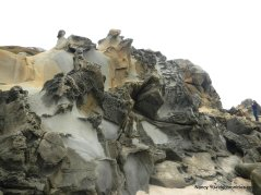 sandy rock formations