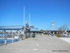 ferry terminal-wharf area