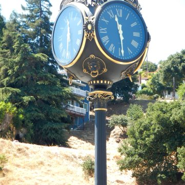 crockett clock
