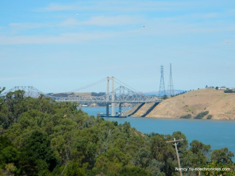 carquinez bridge view
