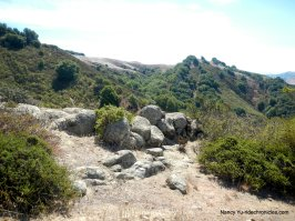 rock outcroppings
