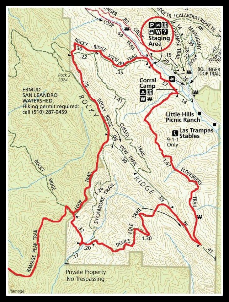 Las Trampas Ramage Peak